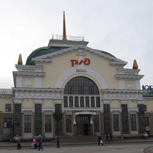 Железнодорожные вокзалы Ухты